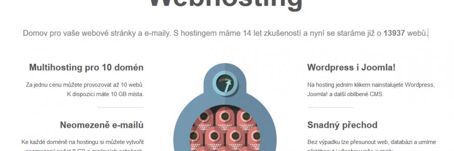 Změna webhostingu