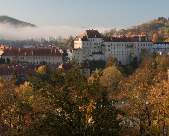 podzimní hrad a zámek | Český Krumlov