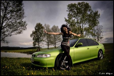 Mirka a Honda Accord 1.8 | Bad Leonfelden