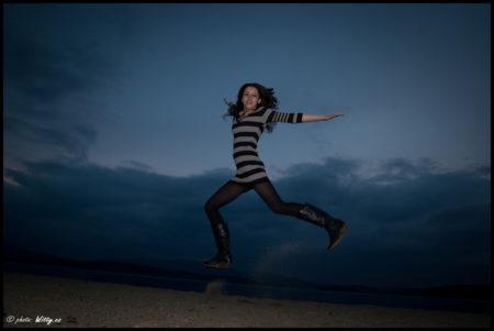 létající Mirka | Černá v Pošumaví