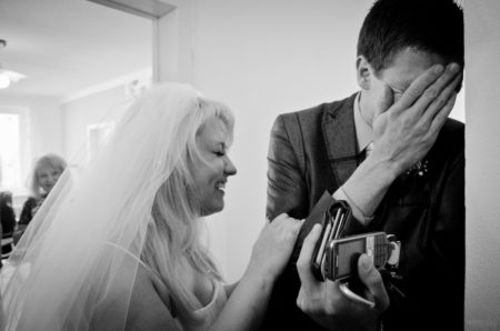 výměna nevěsty, ženich napálen | Český Krumlov