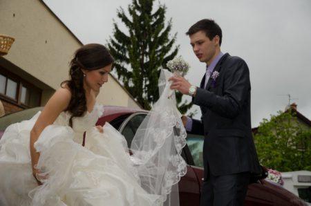 vystupování nevěsty | Český Krumlov