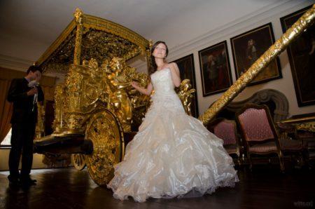 Zlatý kočár v Eggenberském sále | Český Krumlov