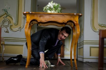 ženich pod stolem | Český Krumlov