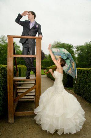 vyhlížení nevěsty | Zámecká zahrada, Český Krumlov
