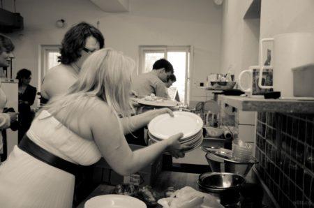 příprava hostiny | restaurace Horfa, Slavkov