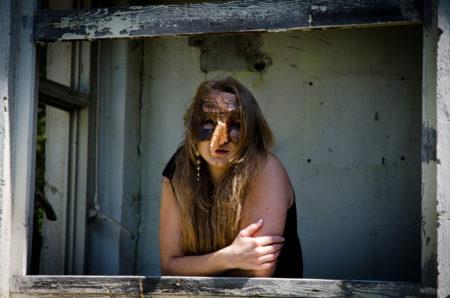 Jannys v rozvalinách | důl Lazec