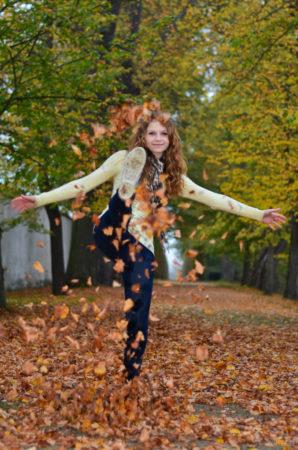 rozvíření listí | Český Krumlov
