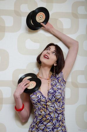 Andrea a gramofonové desky