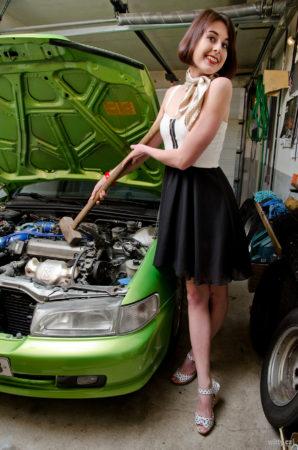 opravářka motorů Andrea