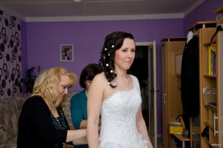 svatební přípravy nevěsty | Český Krumlov