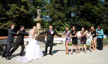 přetahování o ženicha | Rožmberk nad Vltavou