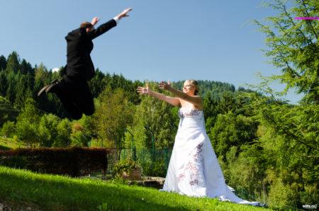 letící ženich | restaurace Studenec, Rožmberk nad Vltavou