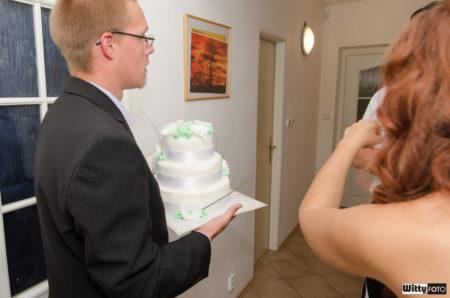 svatební dort | Milná