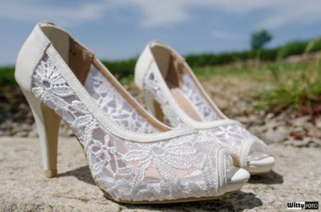 obuv nevěsty | Milná