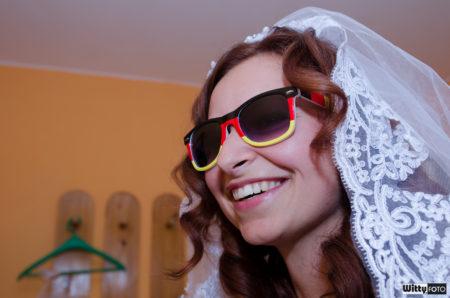 svatební přípravy nevěsty | Milná