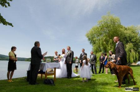 svatební obřad u Lipna | Frymburk