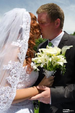 novomanželský polibek | Frymburk