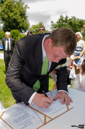 podpis ženicha | Frymburk