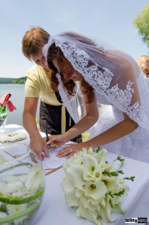 podpis nevěsty | Frymburk