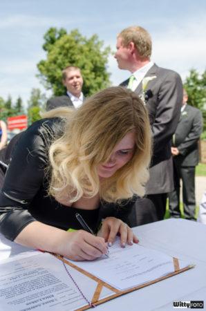 podpis svědkyně | Frymburk