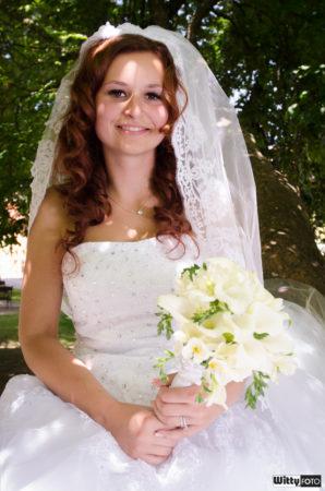 nevěsta v parku | Frymburk