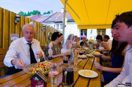 svatební hostina | Frymburk