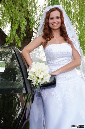nevěsta u Golfu | Frymburk