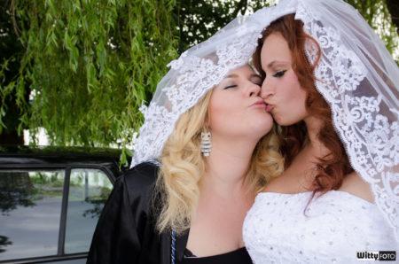 nevěsta se svědkyní | Frymburk