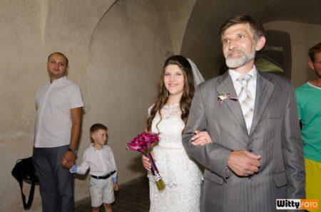 nevěsta s otcem | Rožmberk nad Vltavou
