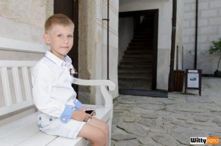 na nádvoří hradu | Rožmberk nad Vltavou
