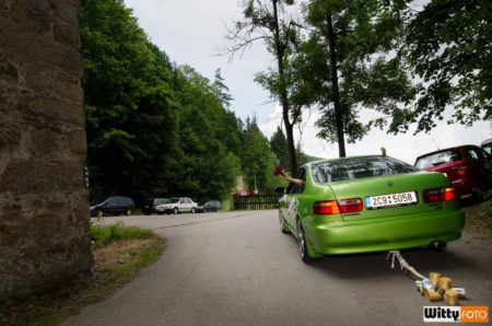 Honda Accord - odvoz svatebčanů | Rožmberk nad Vltavou