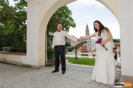 brána do Jezuitské zahrady | Český Krumlov