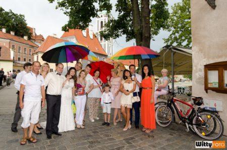 pod deštníky u restaurace Parkán | Český Krumlov