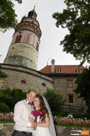 pod věží zámku | Český Krumlov