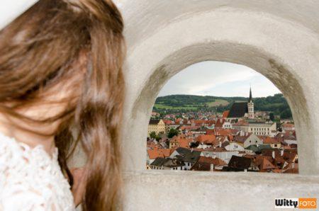 pohled na město | Český Krumlov
