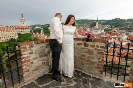 vyhlídka u zámeckého Barokního divadla | Český Krumlov