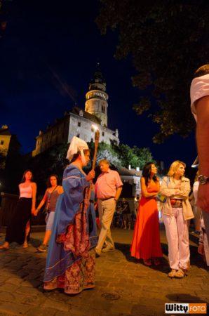 noční prohlídka města s Dášou Bohdalovou | kostel sv. Víta, Český Krumlov