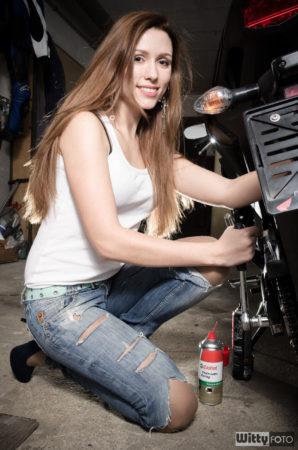 Nataša a Honda CBR | Zlatá Koruna