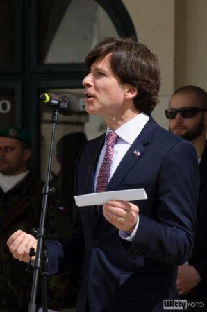 J. E. Andrew H. Schapiro, velvyslanec USA v České republice | Český Krumlov