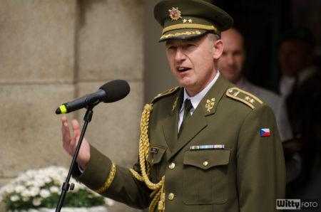 generálmajor Jaroslav Kocián, generální štáb ČR | Český Krumlov
