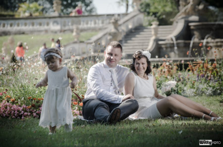 zámecká zahrada - u kašny | Český Krumlov