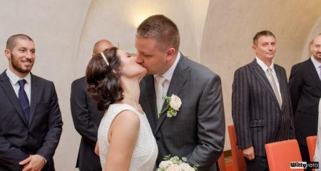 první manželský polibek | Český Krumlov