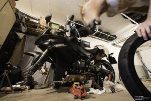 horsemask & Honda CBR