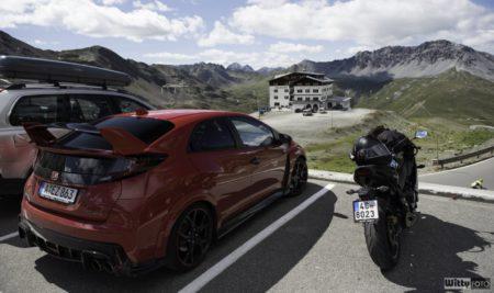 Honda k Hondě sedá | Passo dello Stelvio 2758 m
