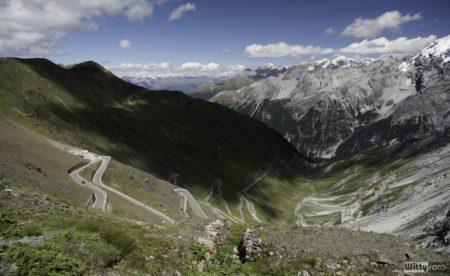 mekka motorkářů | průsmyk Stelvio