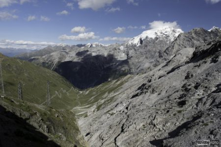 pohled na Italskou stranu | Passo dello Stelvio 2758 m