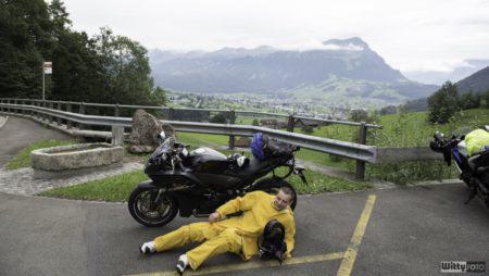 Ne, nejsem nachmelený, tahle fotka se moc nepovedla :D | Hirschen Schwyz