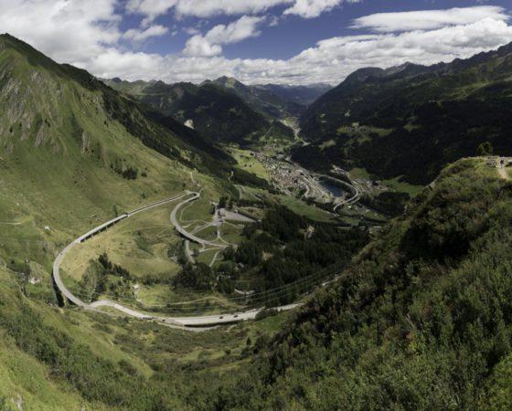 Švýcarskem na motorce