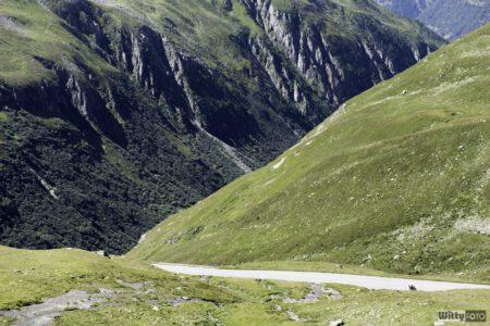 příjezdová cesta z Ulrichen | Nufenenpass 2478 m